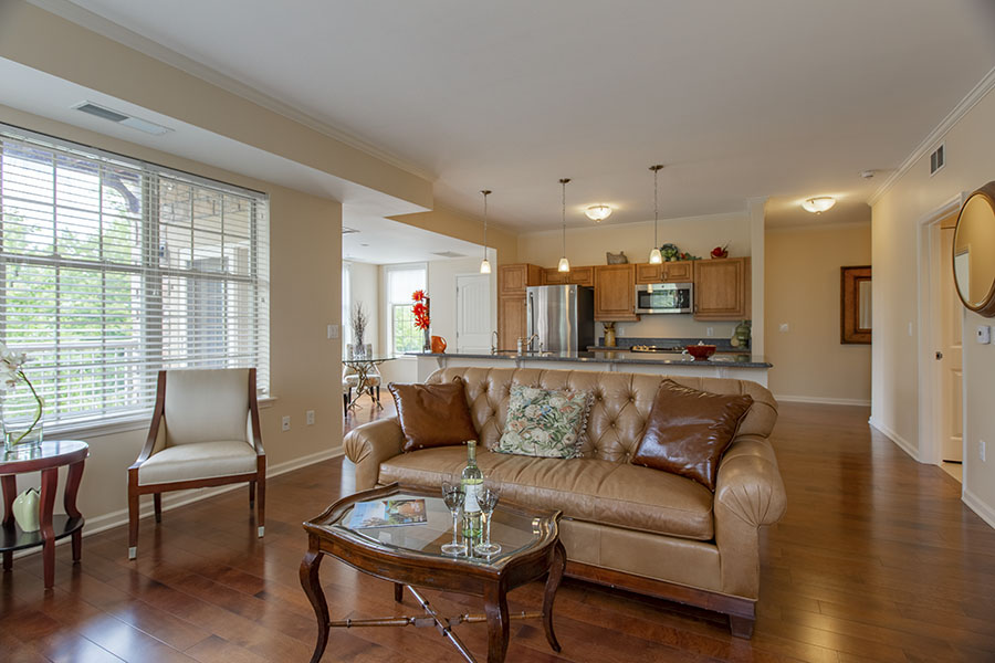 Laurelwood living room