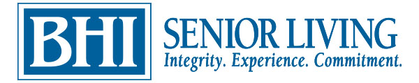External link to the BHI Senior Living website