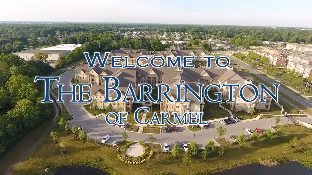 The Barrington of Carmel welcome video cover