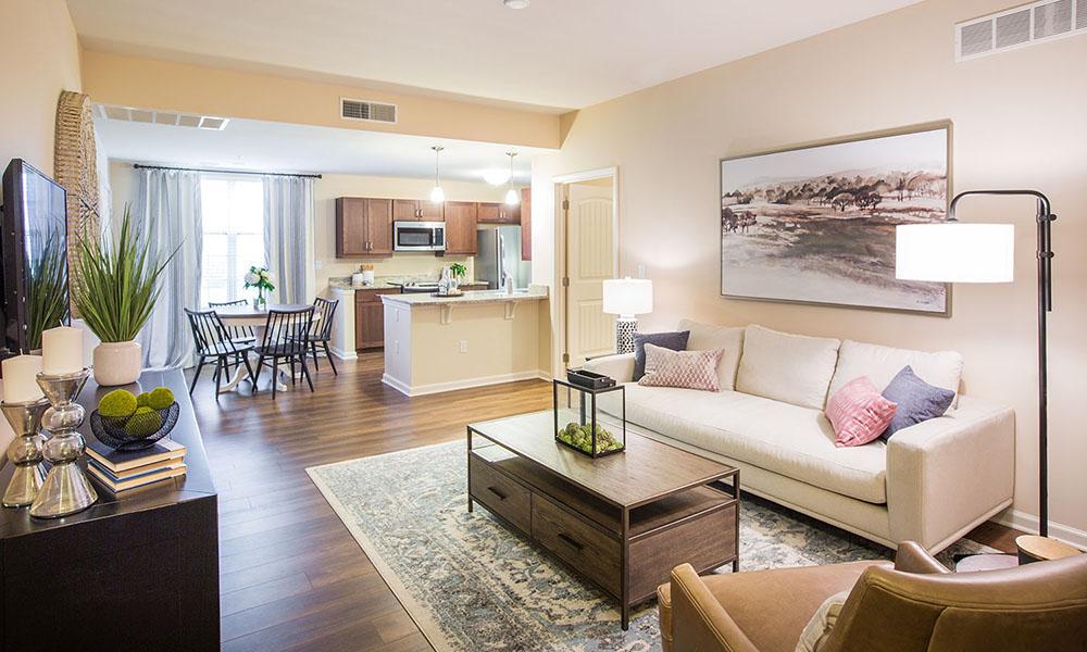 Kentshire Apartment (living room)