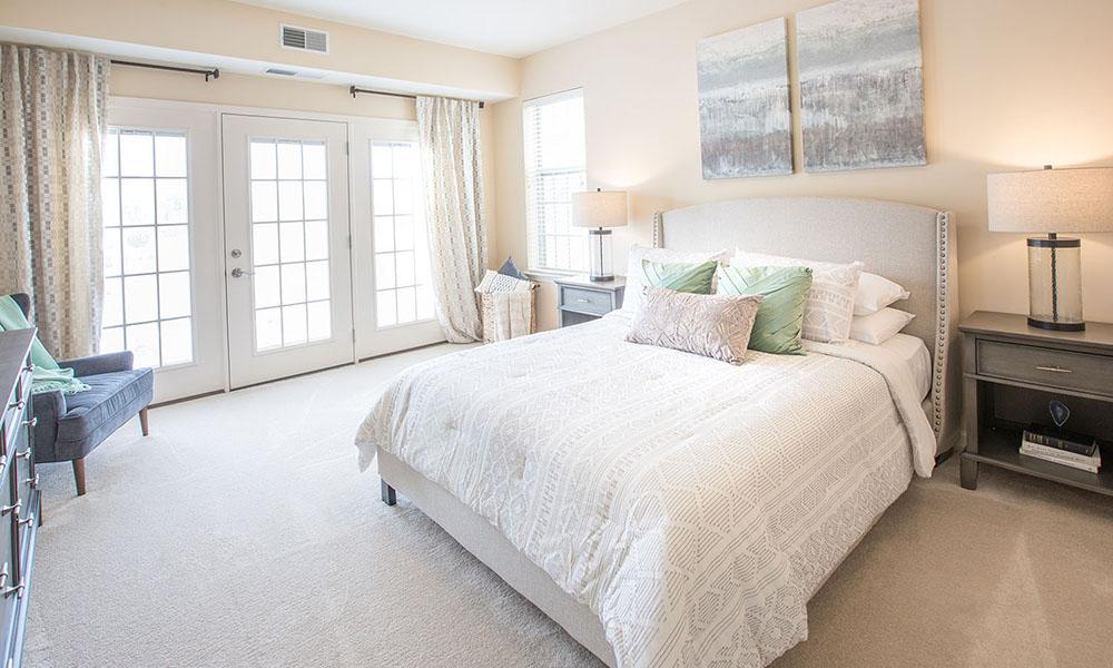 Independent Living Noblewood Apartment bedroom